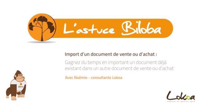 Illustration Astuce - Import Document de vente ou d'achat
