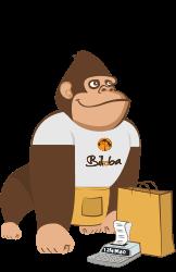 Illustration de la mascotte solution de gestion commerciale de l'ERP Biloba