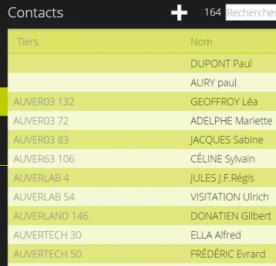 Vos contacts, actions et devis à portée de main avec le CRM mobile Biloba
