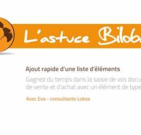Astuce Biloba - Créez rapidement vos devis avec l'élément Glossaire