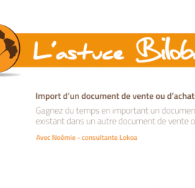 Illustration Astuce - Import Document de vente ou d'achat