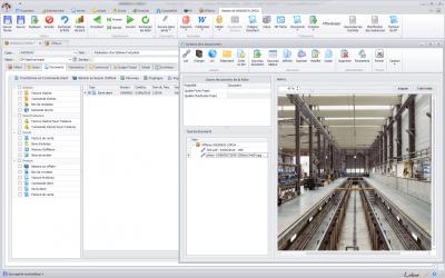 Capture d'écran Biloba : Gestion de vos documents par affaire