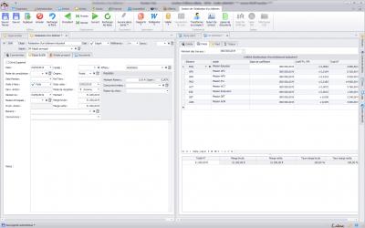 Capture d'écran Biloba : Bureaux d'études : suivi de de projets